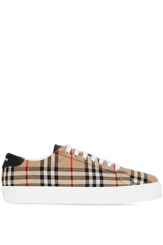 VINTAGE CHECK BURBERRY SNEAKERS