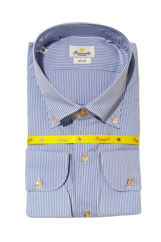 GIANNETTO PORTOFINO STRIPED SHIRT
