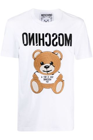 T-SHIRT UOMO MOSCHINO TEDDY BEAR