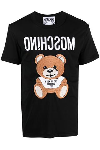 <br>TEDDY BEAR BLACK SHORT SLEEVE T-SHIRT<br>