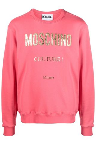 LONG SLEEVE SWEATSHIRT ROSA MOSCHINO