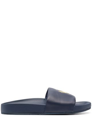MEN'S BLUE SLIPPERS RALPH LAUREN