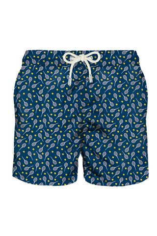 MC2 SAINT BARTH MEN'S SWIMSUIT WITH PADDLE PRINT