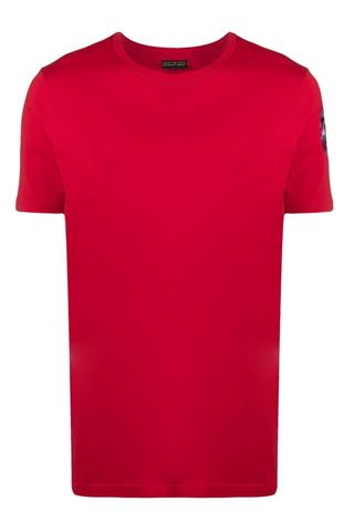 RED BASIC T-SHIRT SAVE THE DUCK