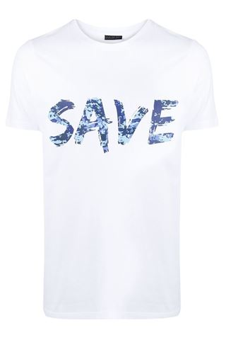 BASIC SAVE THE DUCK T-SHIRT