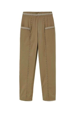 TWIN SET COTONW TROUSERS